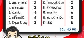 เก็บตก 10 ข้อจากการสอบ PAT1 ปี 64 #Dek64
